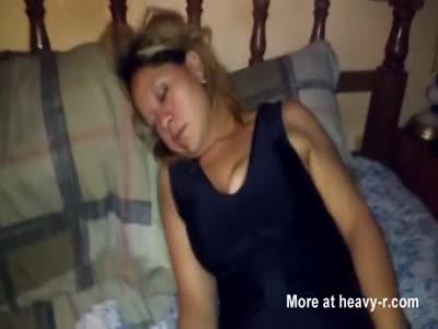 Mexico teen wife nude sleep face cum how