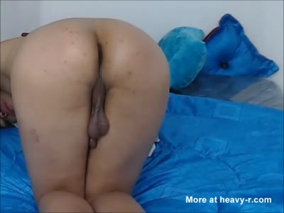 She Likes It Deep In Her Ass - Trans Teen