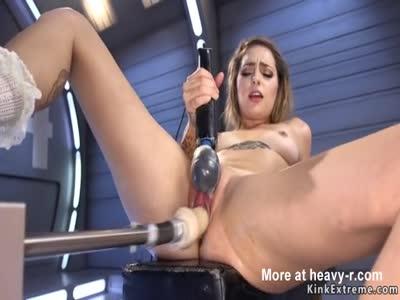 Machinery Makes Her Cum
