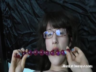 Her Beads Taste Weird