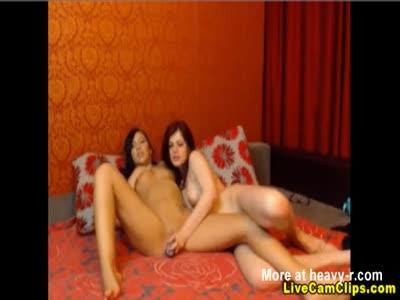 Two Hot Lesbian Camgirls