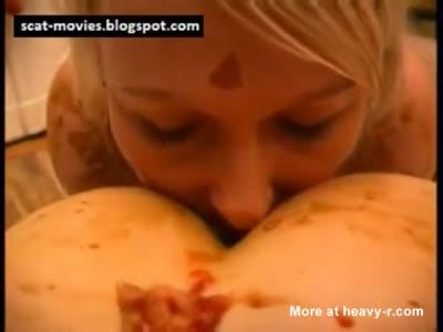 Lesbian Scat Orgy