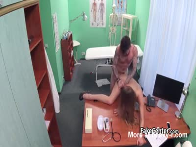 Horny Nurse Riding Patients Dick