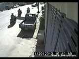 Girl Kicked In The Head After Accident