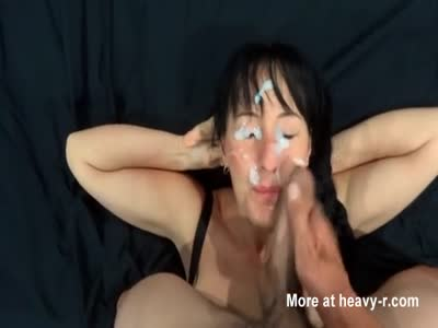 Painting Face With Cum