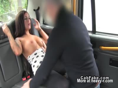 Fucking In A Fake Taxi
