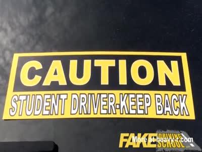 Fake Driving School - Chloe Carter 19yr old petite American