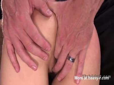 Anal Fingering Bound Girl
