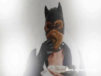 Catwoman Eating Shit
