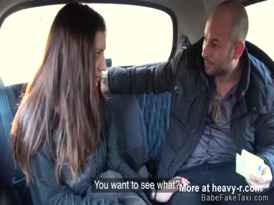 Female fake taxi driver licked and fucked