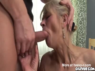 Granny Getting Dick In Her Ass