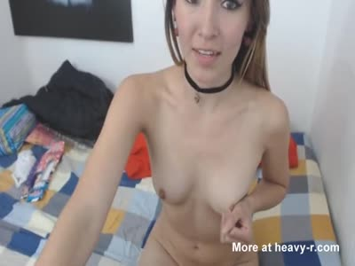 She Calls Her Partner To Fuck On Cam