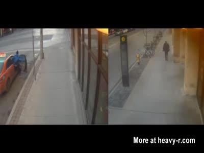 Schizophrenic Man Random Stabbing Strangers