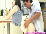Japanese News Girl Fucked On TV