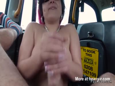 Chubby Amateur Jerking Driver