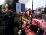 Car crash Russian style