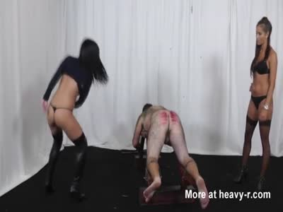 Brutal Caning