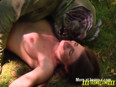 Raped By River Monster