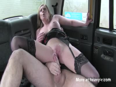 Pussy Cumshot In Back Of Cab