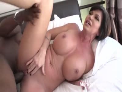 Sexy MILF Fucking Big Black Stud