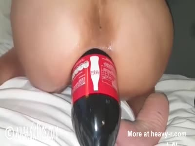 Big Coke Bottle Wrecks Asshole