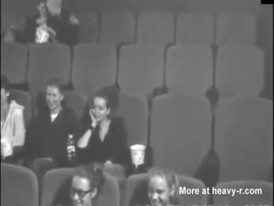Cinema Blowjob