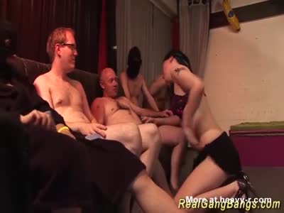 Teen Gangbanged In Swinger Club