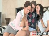 MILF Counsellor Teaches Teen Couple
