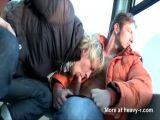Amateur public gays in the snow