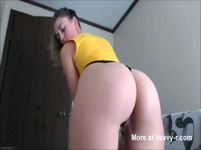 Petite Babe Making A Hot Masturbating Video