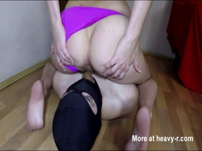 Teen Mistress Feeding Slave Mouth