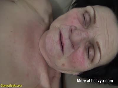 Dead Grandma Gets Pussy Eaten