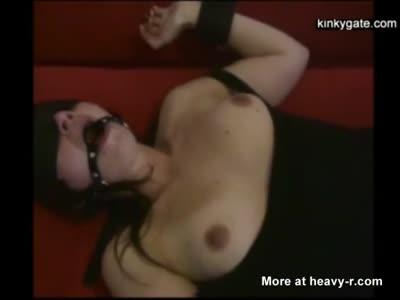 Cum Feeding Masked Slave