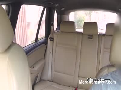 Gal convinced taxi driver to fuck her