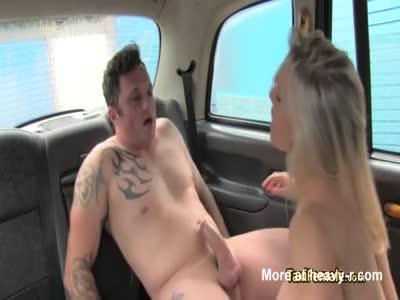 MILF Taxi Driver Nailing Porn Cock
