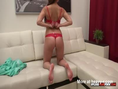 Teasing Girl Strips Naked