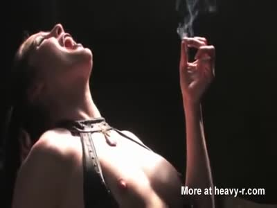 Smoking Mistress Gets Pussy Eaten