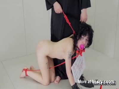 Punish wife collar slave sex redhead
