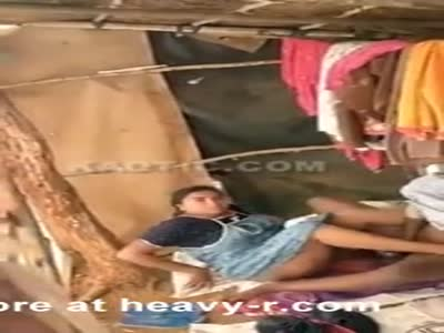 Indian Couple Caught Fucking