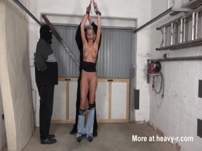 Submissive Wife Humiliated In Garage