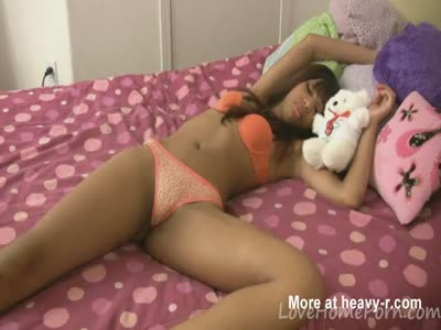 Sleeping Ebony Receives Hard Dick