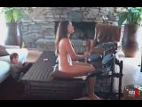 Naked Milf Plays The Drums