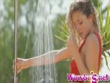 Hot Babe Taking A Shower