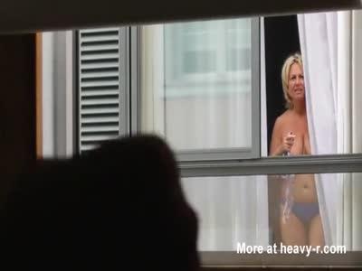 Neighbor Flashing Tits