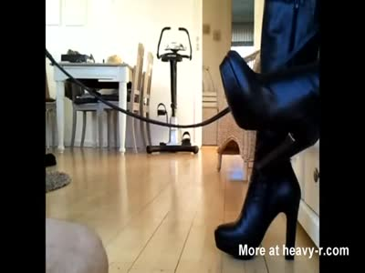 Slave Licking Boots