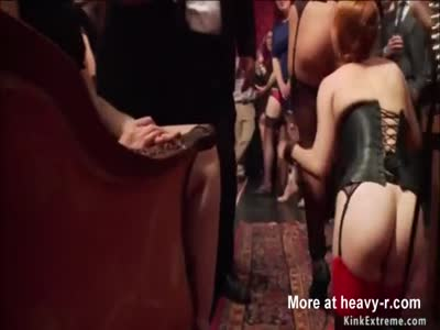 Mistress fist and anal fucks slaves