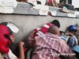 Egyptian Protesters Mowed Down