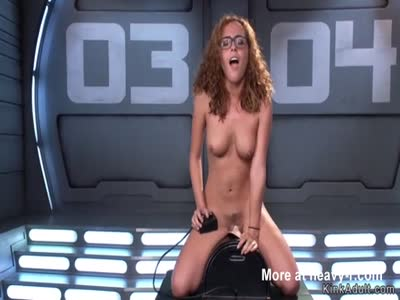 Ginger Vibed On Sybian