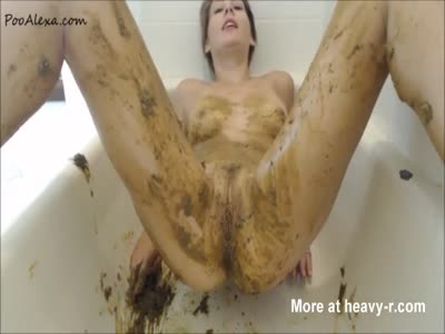 Aggresive Scat Smearing Vid