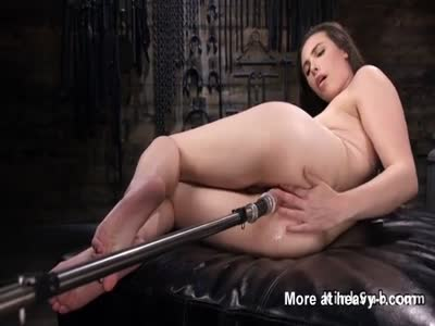 Anal fucking Machine Pleasures